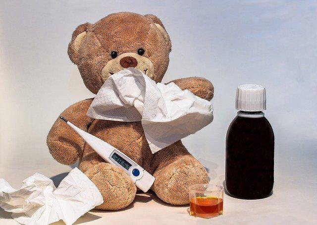 jak srazit horečku u dětí