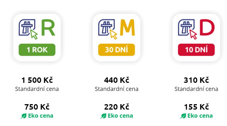 jak koupit elektronickou dálniční známku